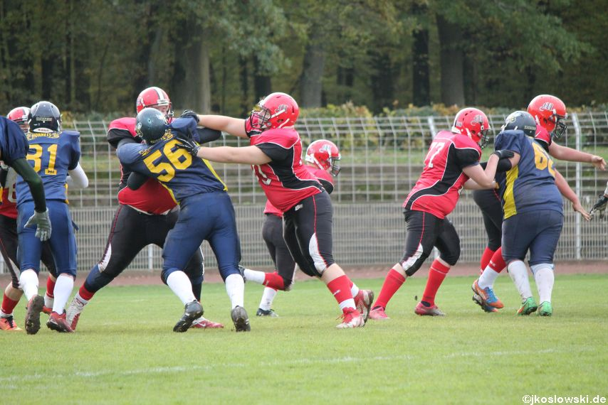 U17 Hanau Hornets vs. Marburg Mercenaries424