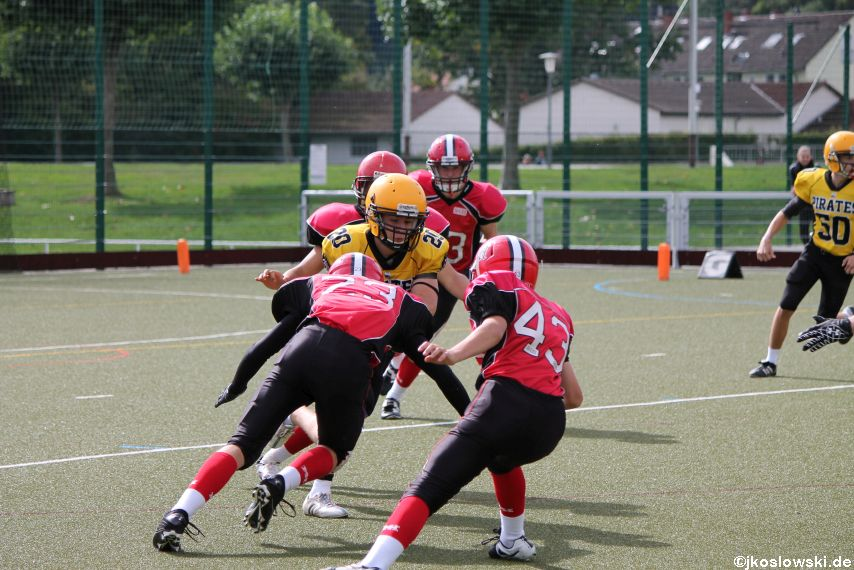 U17 Marburg Mercenaries vs. Frankfurt Pirates 010