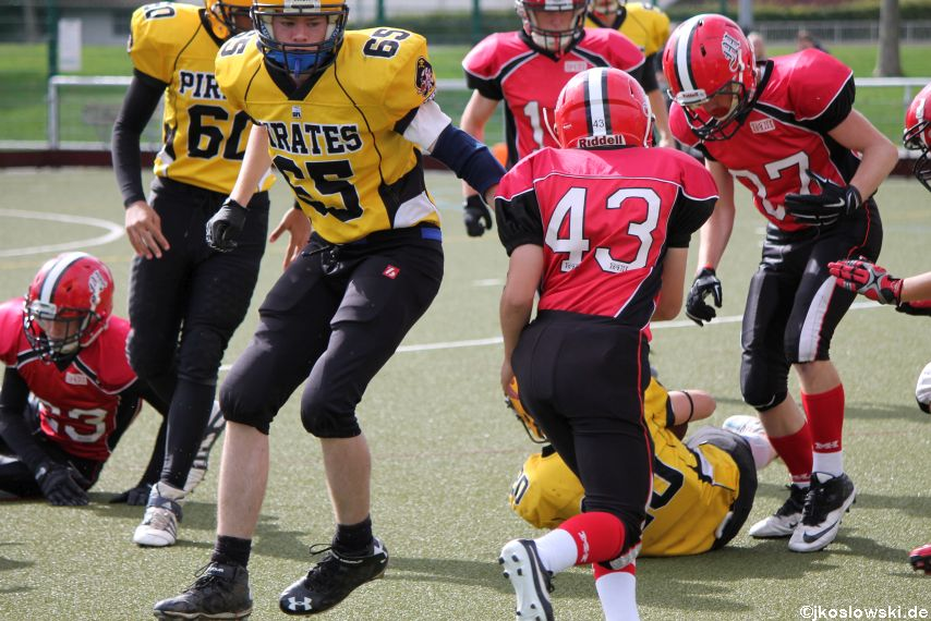 U17 Marburg Mercenaries vs. Frankfurt Pirates 012