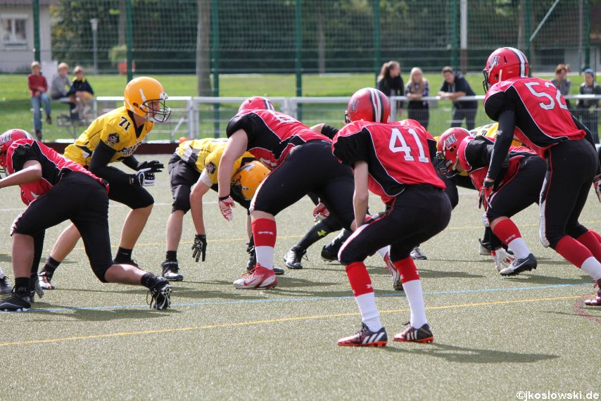 U17 Marburg Mercenaries vs. Frankfurt Pirates 021