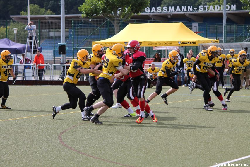 U17 Marburg Mercenaries vs. Frankfurt Pirates 034