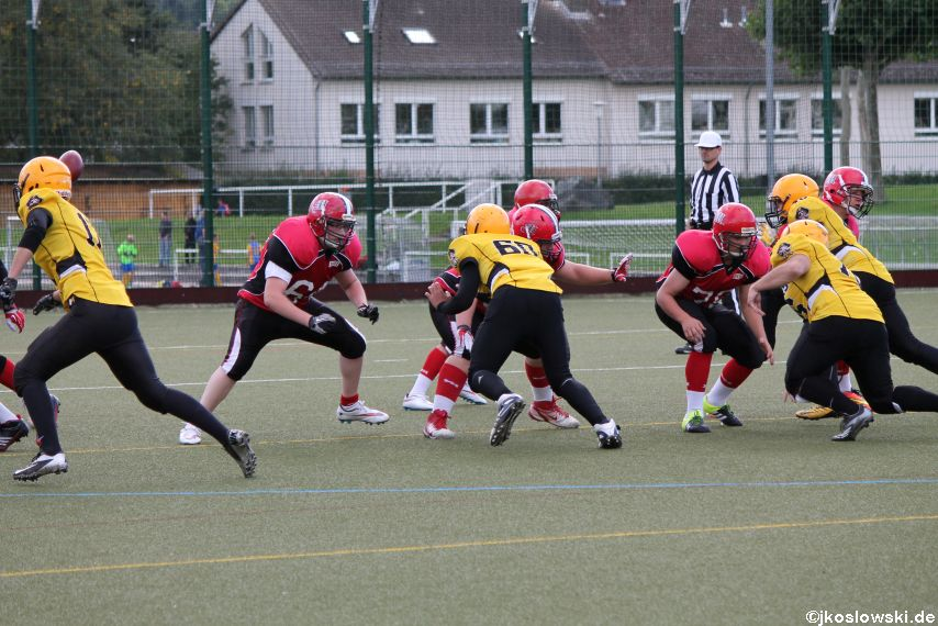 U17 Marburg Mercenaries vs. Frankfurt Pirates 123