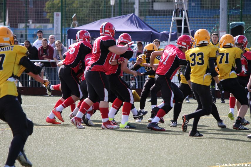 U17 Marburg Mercenaries vs. Frankfurt Pirates 212