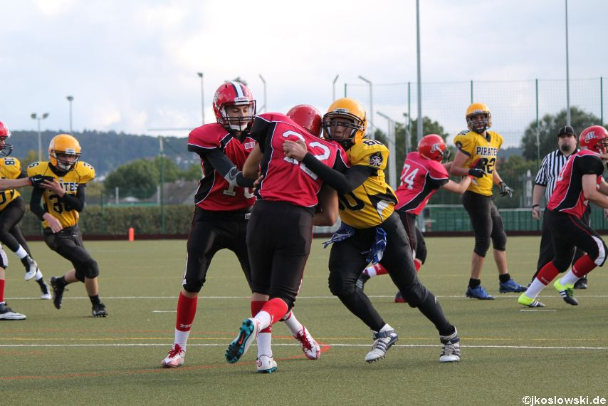 U17 Marburg Mercenaries vs. Frankfurt Pirates 321