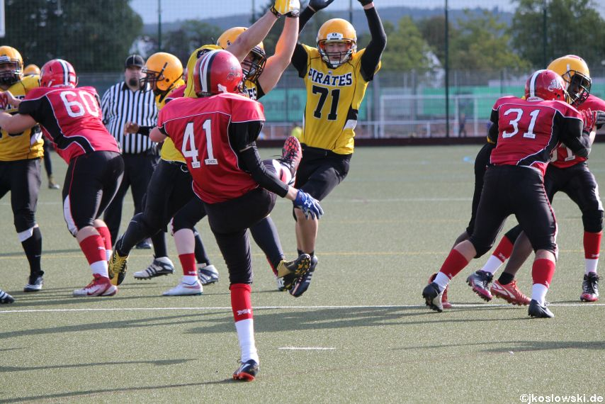 U17 Marburg Mercenaries vs. Frankfurt Pirates 332