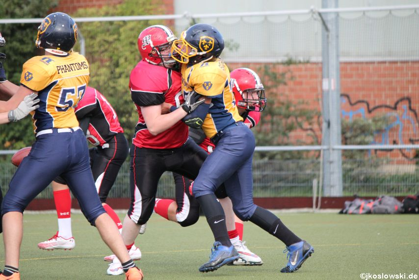 U17 Marburg Mercenaries vs. Wiesbaden Phantoms 020