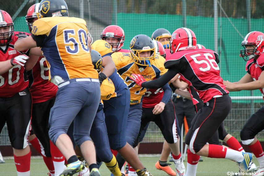 U17 Marburg Mercenaries vs. Wiesbaden Phantoms 087