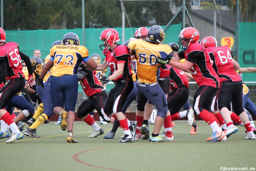 U17 Marburg Mercenaries vs. Wiesbaden Phantoms 090