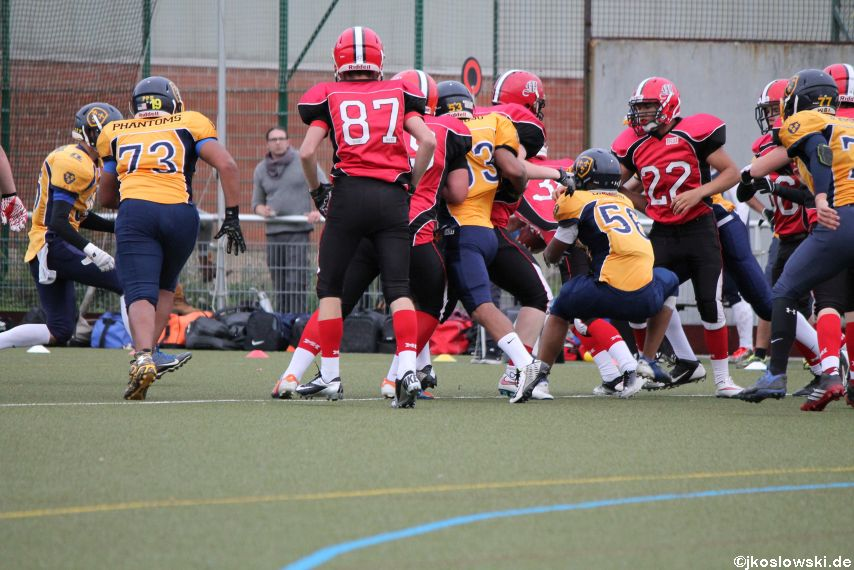 U17 Marburg Mercenaries vs. Wiesbaden Phantoms 100