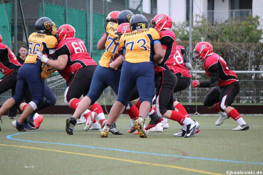 U17 Marburg Mercenaries vs. Wiesbaden Phantoms 120