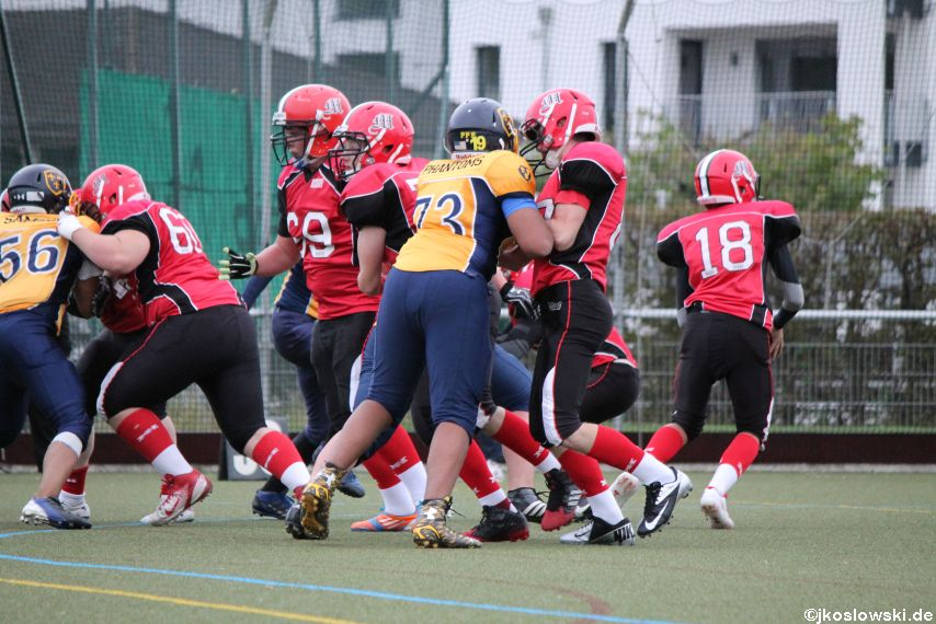 U17 Marburg Mercenaries vs. Wiesbaden Phantoms 121