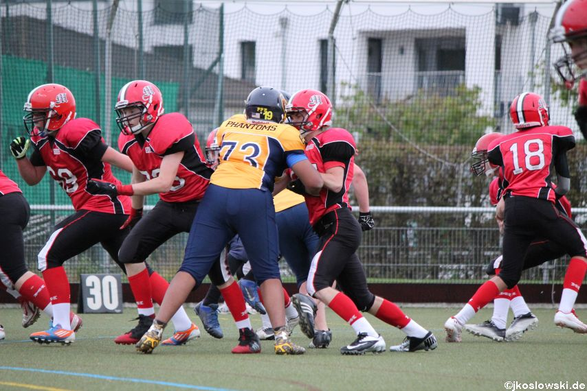 U17 Marburg Mercenaries vs. Wiesbaden Phantoms 122