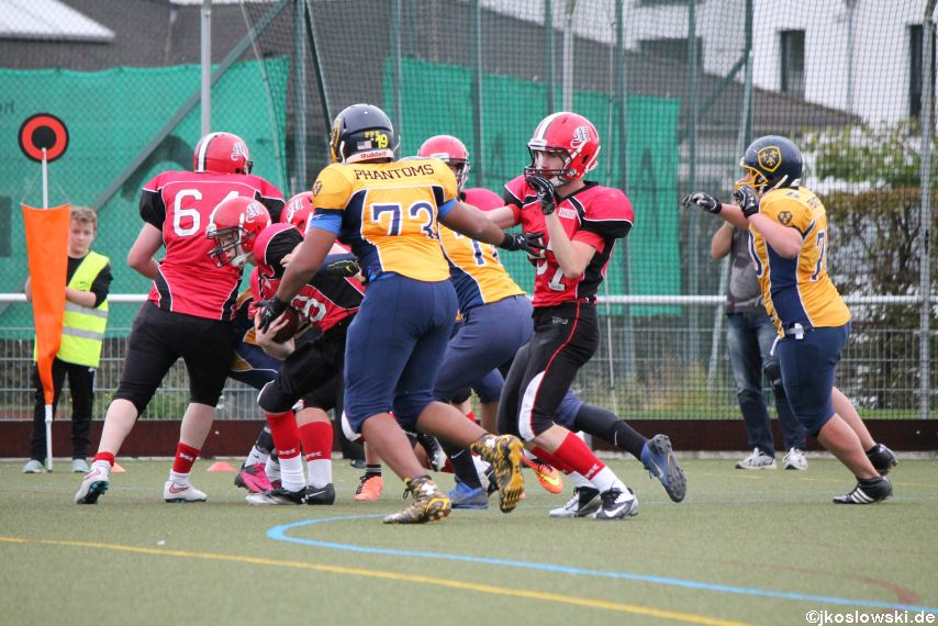 U17 Marburg Mercenaries vs. Wiesbaden Phantoms 124