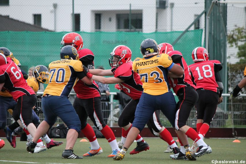 U17 Marburg Mercenaries vs. Wiesbaden Phantoms 132