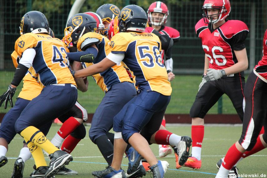 U17 Marburg Mercenaries vs. Wiesbaden Phantoms 150