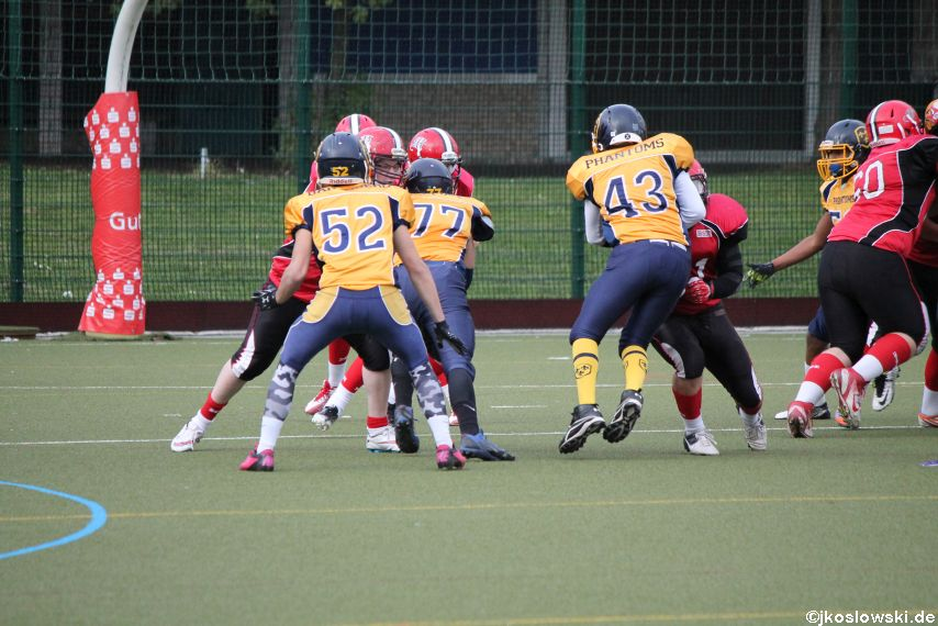 U17 Marburg Mercenaries vs. Wiesbaden Phantoms 155
