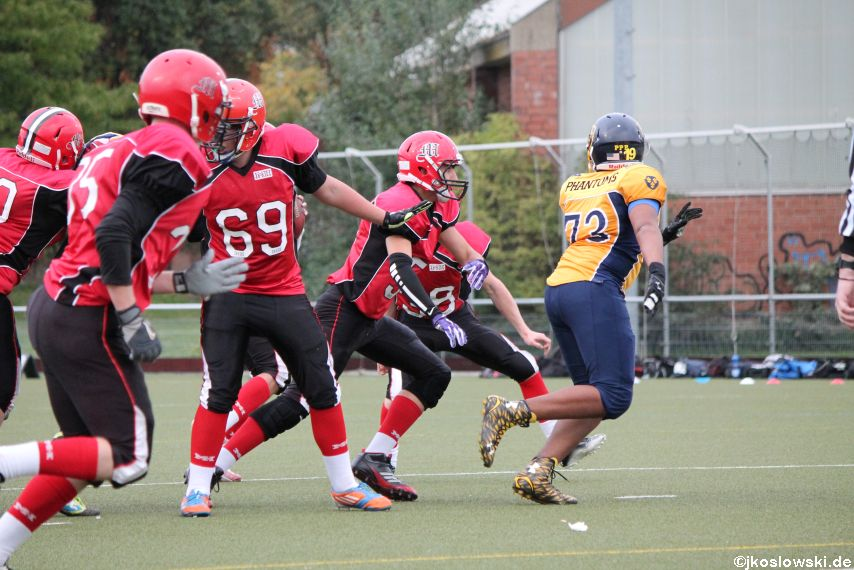 U17 Marburg Mercenaries vs. Wiesbaden Phantoms 186