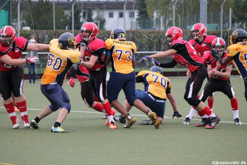 U17 Marburg Mercenaries vs. Wiesbaden Phantoms 276