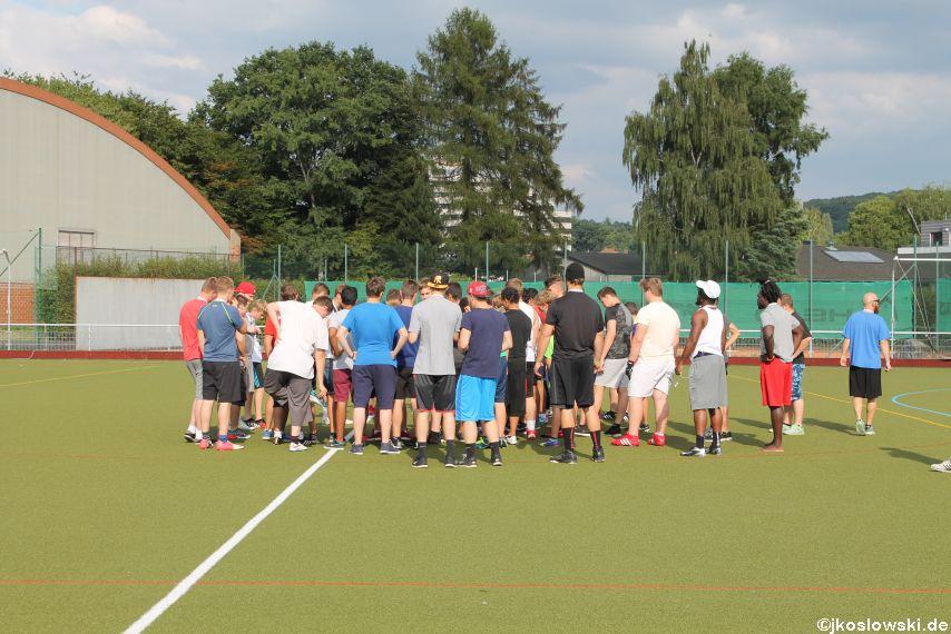 Try Out der Jugend Footballer der Marburg Mercenaries 004