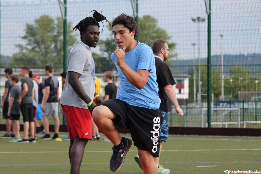 Try Out der Jugend Footballer der Marburg Mercenaries 013