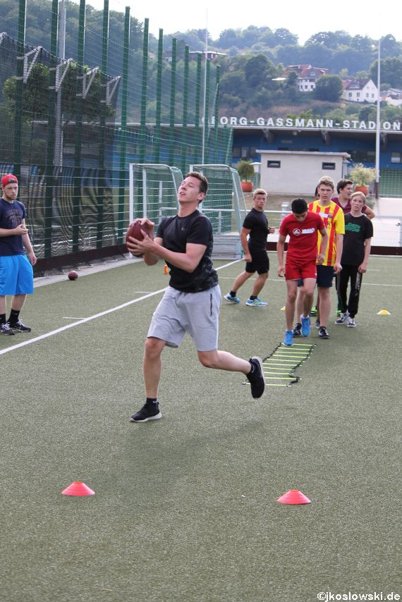 Try Out der Jugend Footballer der Marburg Mercenaries 058