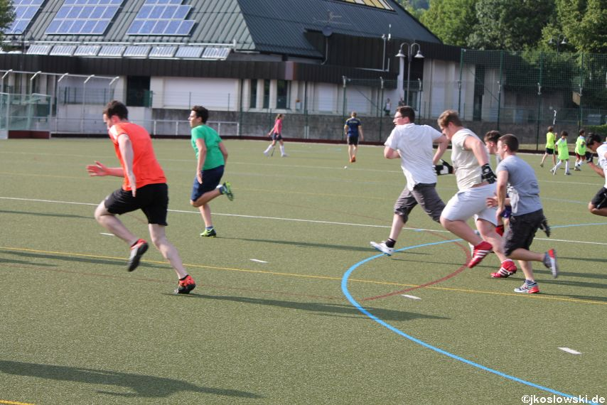 Try Out der Jugend Footballer der Marburg Mercenaries 090