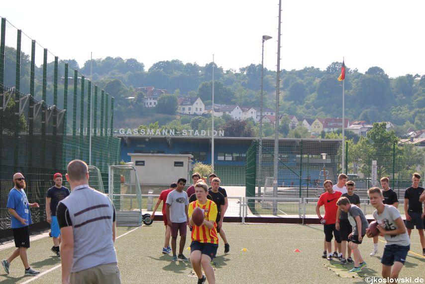 Try Out der Jugend Footballer der Marburg Mercenaries 093