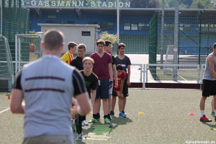 Try Out der Jugend Footballer der Marburg Mercenaries 097