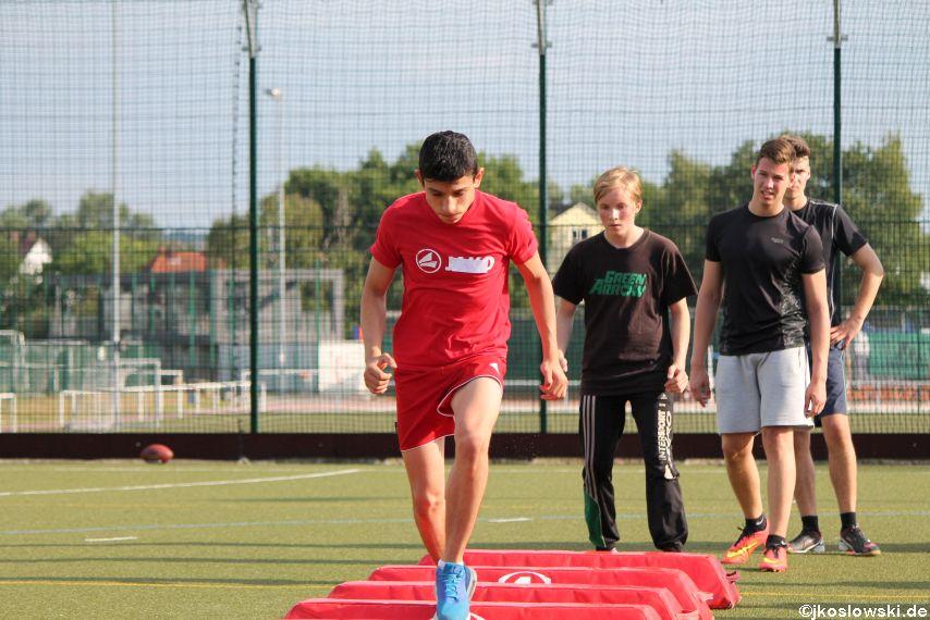 Try Out der Jugend Footballer der Marburg Mercenaries 110