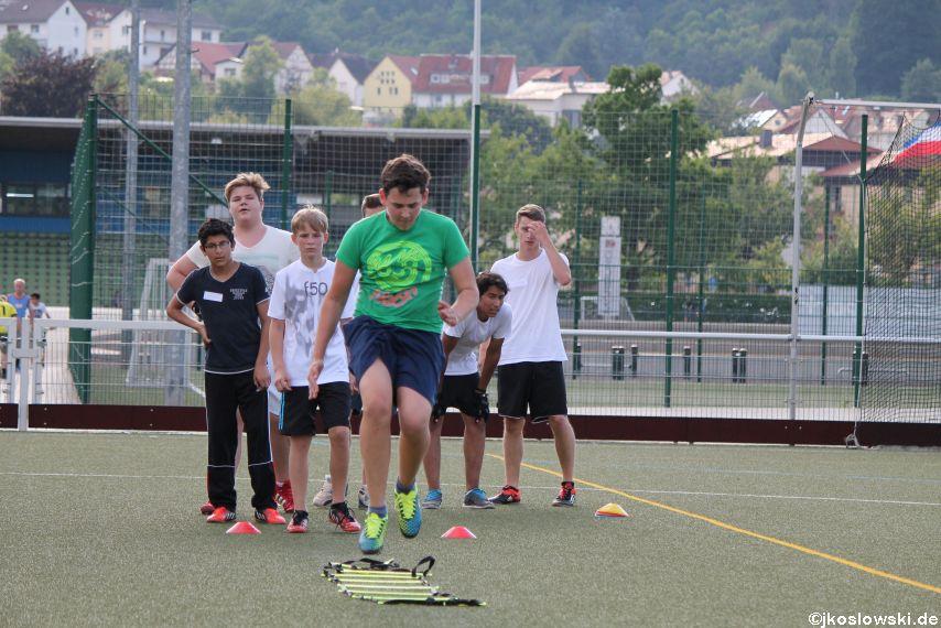 Try Out der Jugend Footballer der Marburg Mercenaries 140