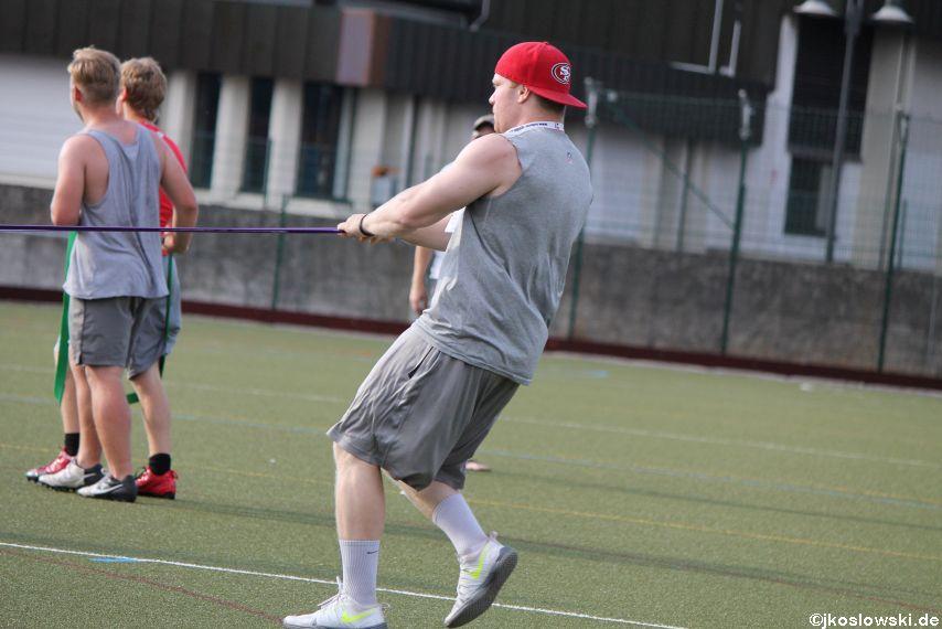 Try Out der Jugend Footballer der Marburg Mercenaries 160
