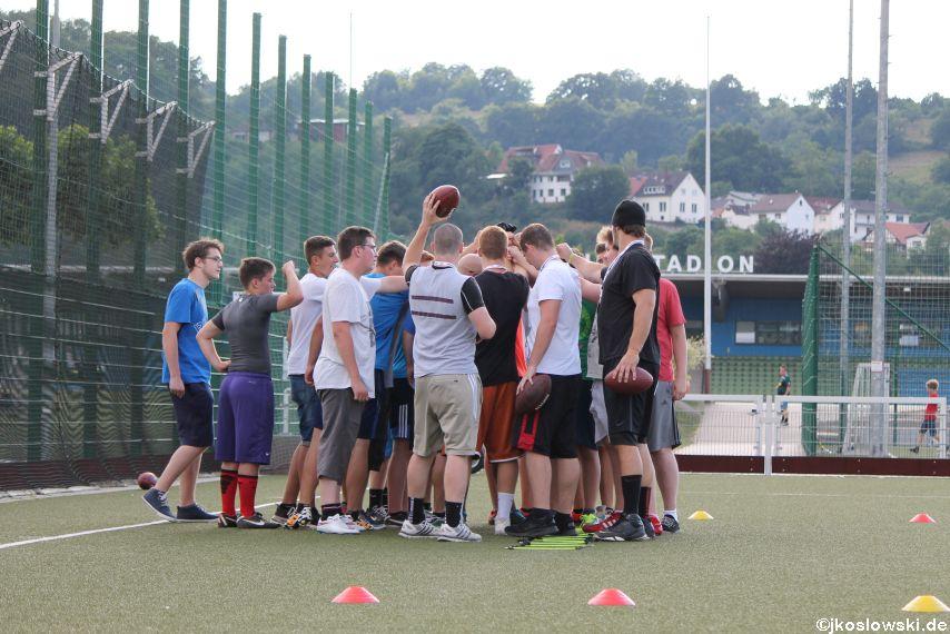 Try Out der Jugend Footballer der Marburg Mercenaries 169
