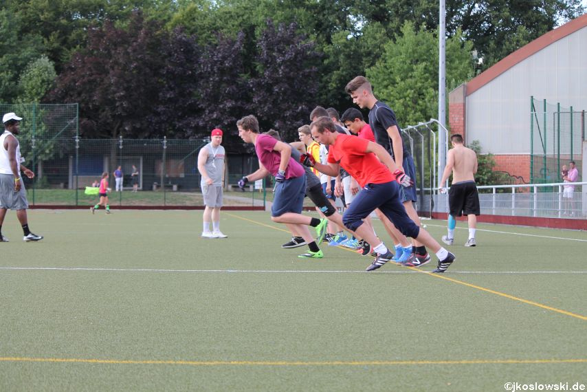 Try Out der Jugend Footballer der Marburg Mercenaries 180