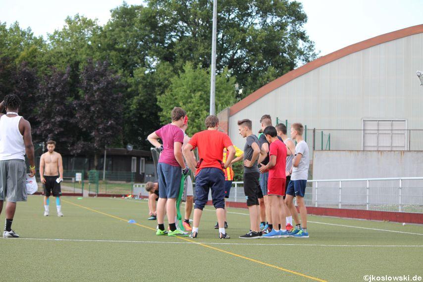 Try Out der Jugend Footballer der Marburg Mercenaries 188