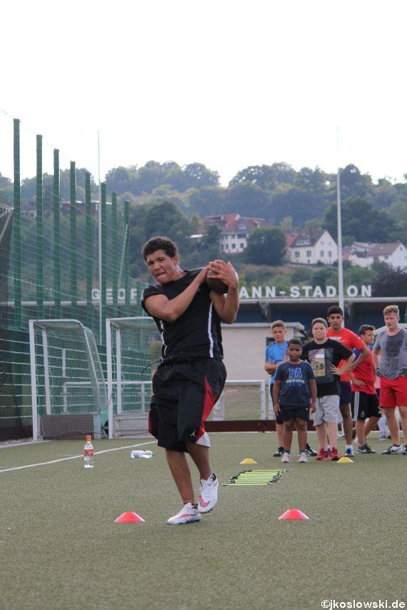 Try Out der Jugend Footballer der Marburg Mercenaries 195