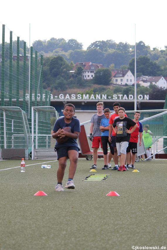 Try Out der Jugend Footballer der Marburg Mercenaries 198