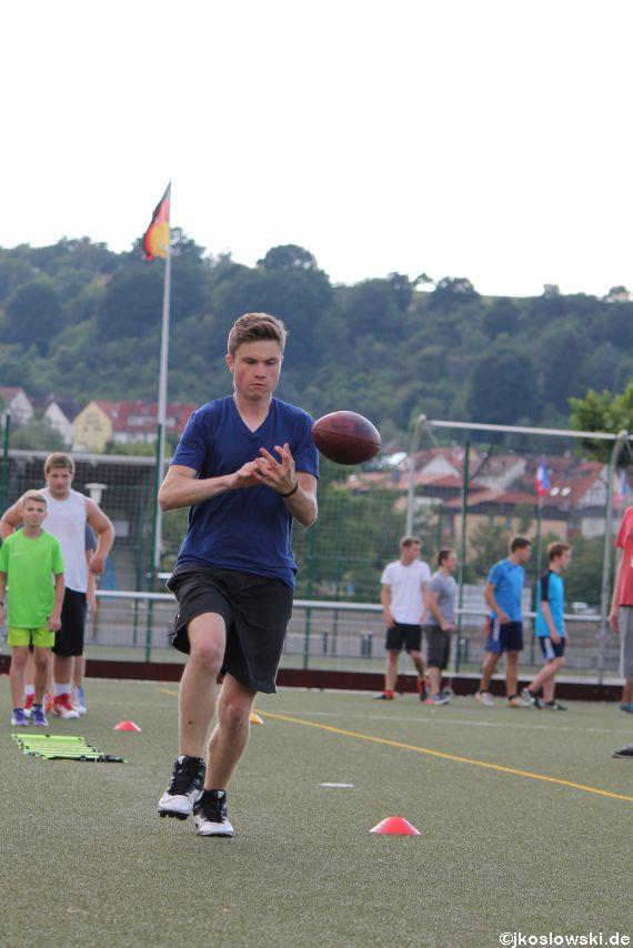 Try Out der Jugend Footballer der Marburg Mercenaries 199