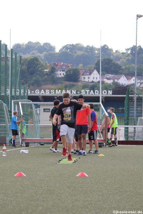Try Out der Jugend Footballer der Marburg Mercenaries 200