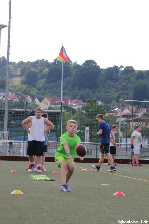 Try Out der Jugend Footballer der Marburg Mercenaries 202