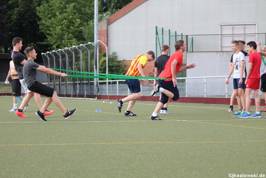Try Out der Jugend Footballer der Marburg Mercenaries 211