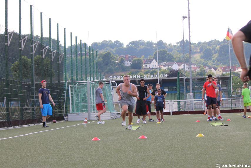 Try Out der Jugend Footballer der Marburg Mercenaries 215