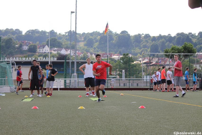 Try Out der Jugend Footballer der Marburg Mercenaries 218