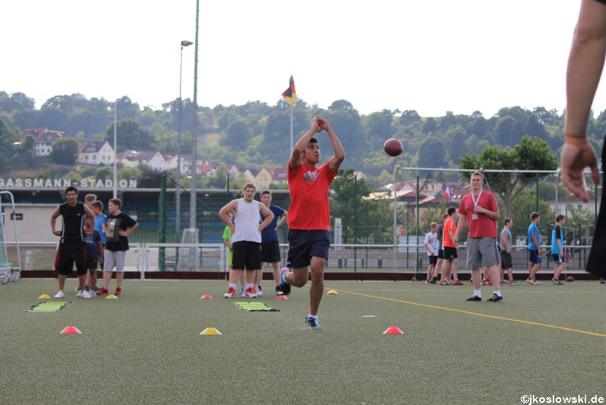 Try Out der Jugend Footballer der Marburg Mercenaries 220