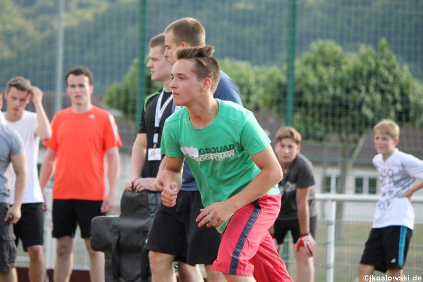 Try Out der Jugend Footballer der Marburg Mercenaries 240