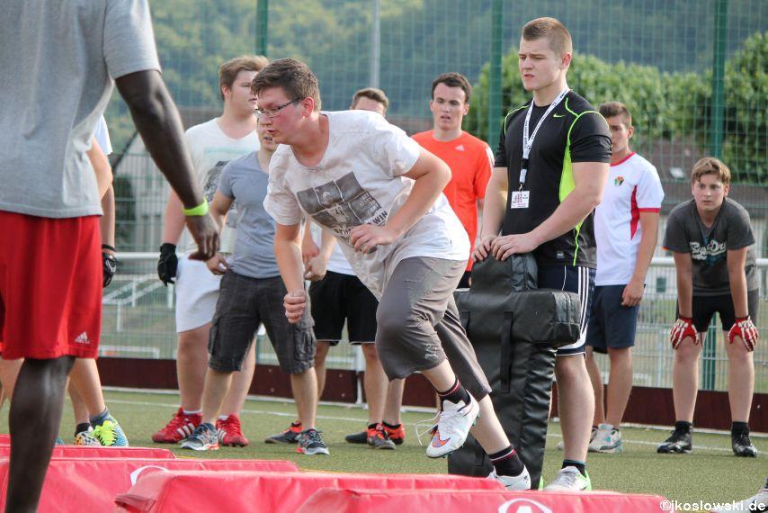 Try Out der Jugend Footballer der Marburg Mercenaries 241