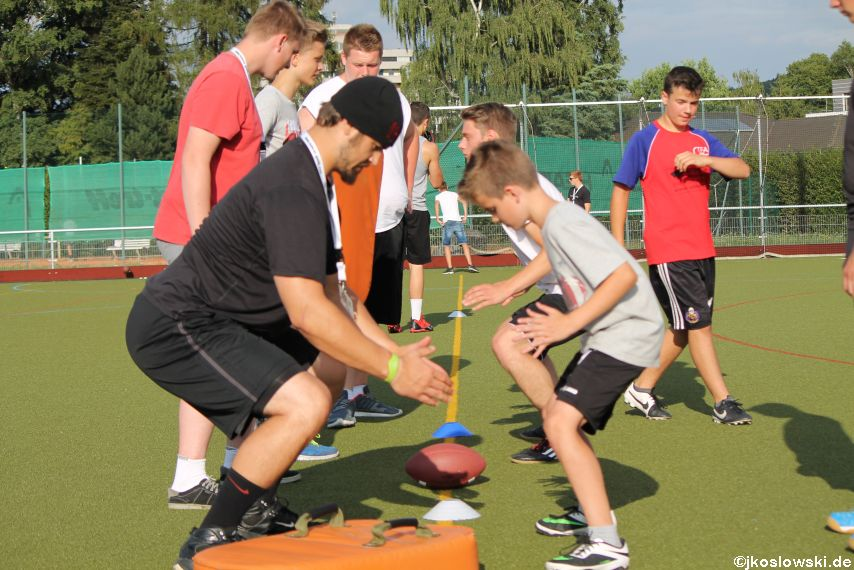 Try Out der Jugend Footballer der Marburg Mercenaries 280